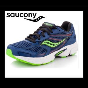 Saucony Kids' Big boys Cohesion 9 LTT Shoe sz:4.5M